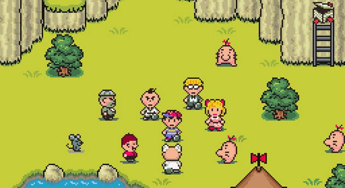 earthbound essay Earthbound (japanese: mother2 ~ギーグの逆襲~ mother 2: gyiyg strikes back), subtitled as the war against giygas in its north american release, is a game that was released for the the super nintendo entertainment system on august 27, 1994 in japan and on june 1, 1995 in north america.
