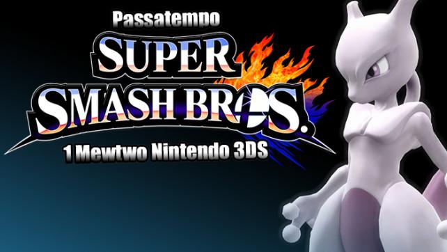 Passatempo – Super Smash Bros: Mewtwo para 3DS