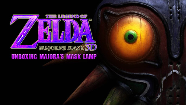 Unboxing – Legend of Zelda Majora's Mask Lamp