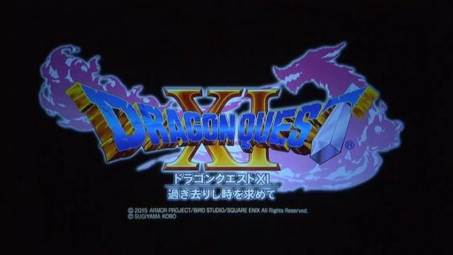 Dragon Quest XI foi anunciado para a PS4, Nintendo 3DS e Nintendo NX