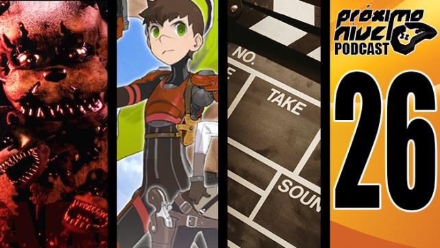 PróximoNível Podcast 26 – Five Nights at Freddy's 4 e Red Ash