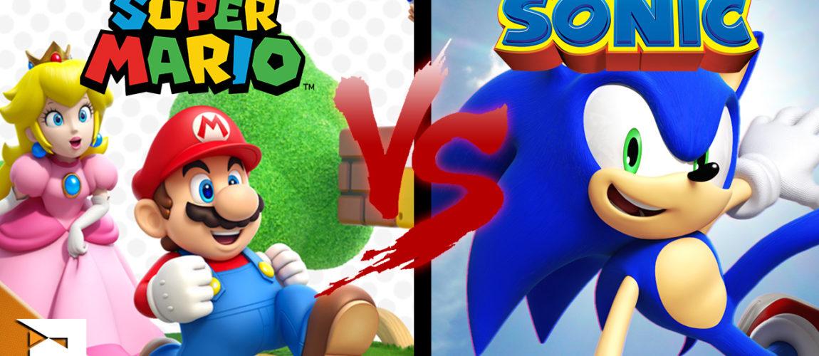 Qual o melhor… Mario ou Sonic?