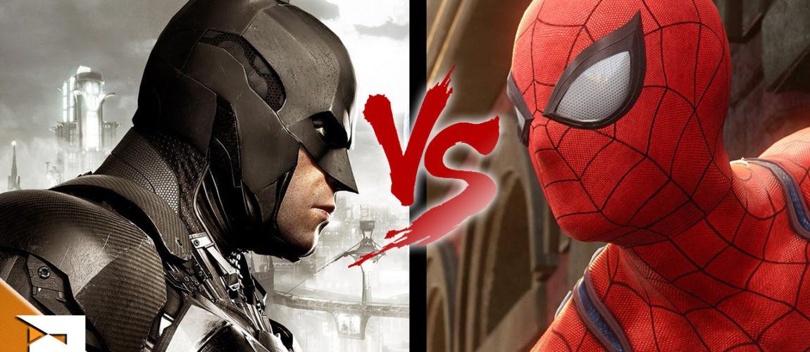 Qual o melhor? Batman ou Spiderman?