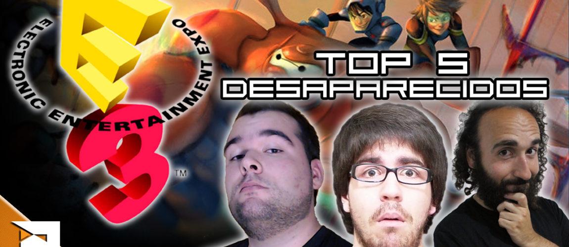 TOP 5 – Desaparecidos da E3 2016