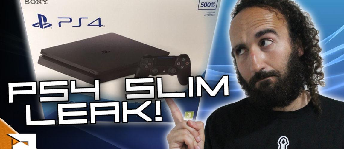 PS4 Slim sofre leak com imagens