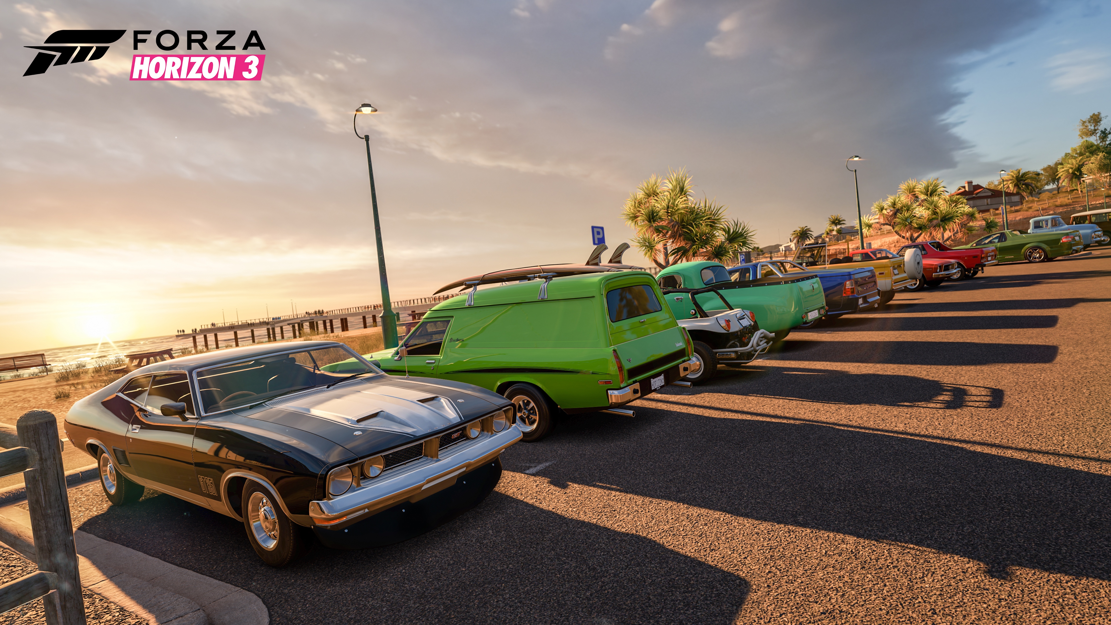 Beach Parking in Forza Horizon 3