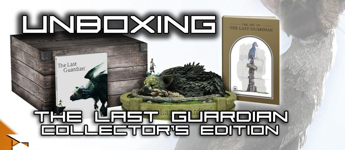 The Last Guardian – Unboxing da edição de coleccionador