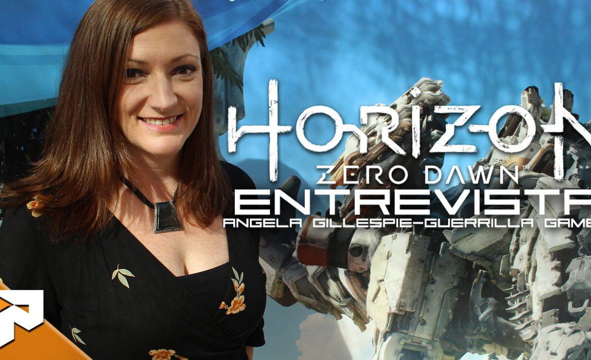 Horizon Zero Dawn – Entrevista com Angela Gillespie