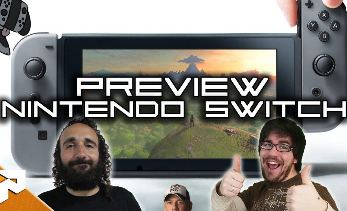 Antevisão – Nintendo Switch
