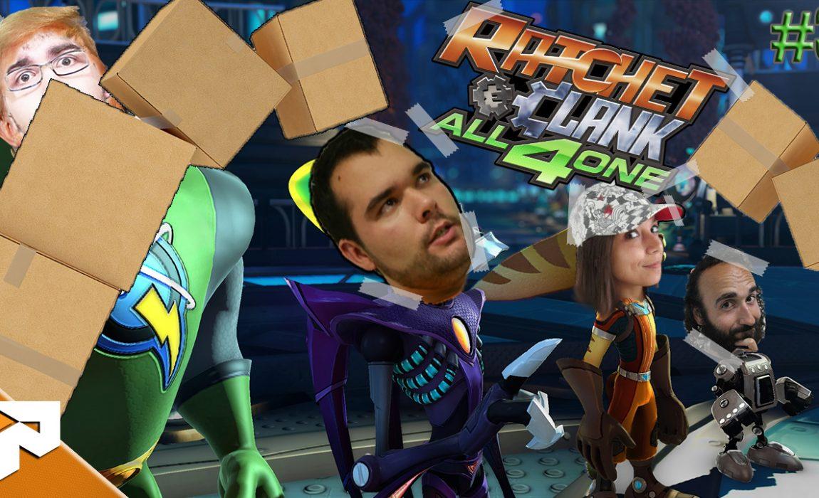 Caiu Tudo!!! – Ratchet & Clank Todos Por Um #3
