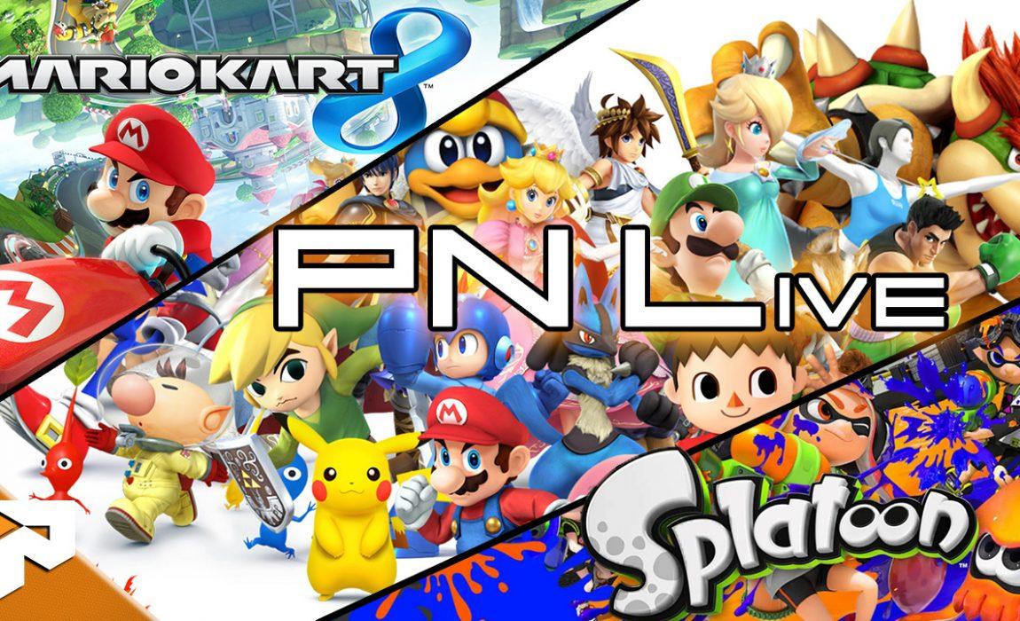 PN Live – Vários jogos da Wii U (terminada)