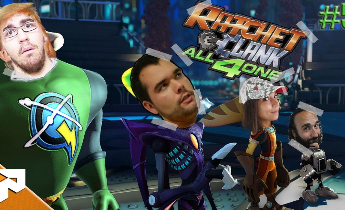 Todos ao Molho – Ratchet & Clank All 4 One #5