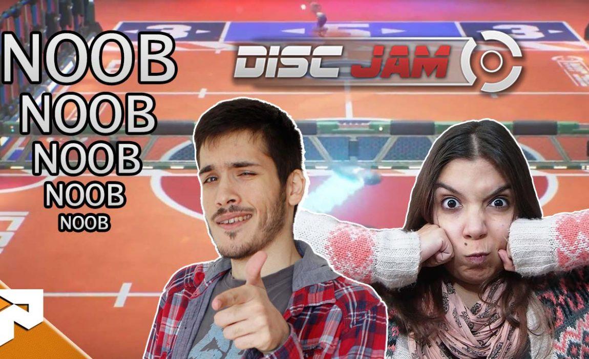 Vamos jogar Disc Jam – Noobs VS Semi-Noobs
