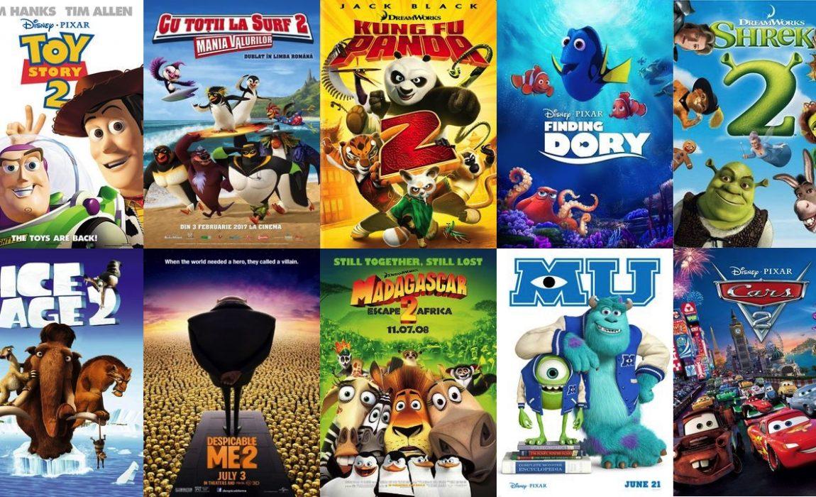 Discussão – Que filmes de animação tiveram um bom segundo filme?