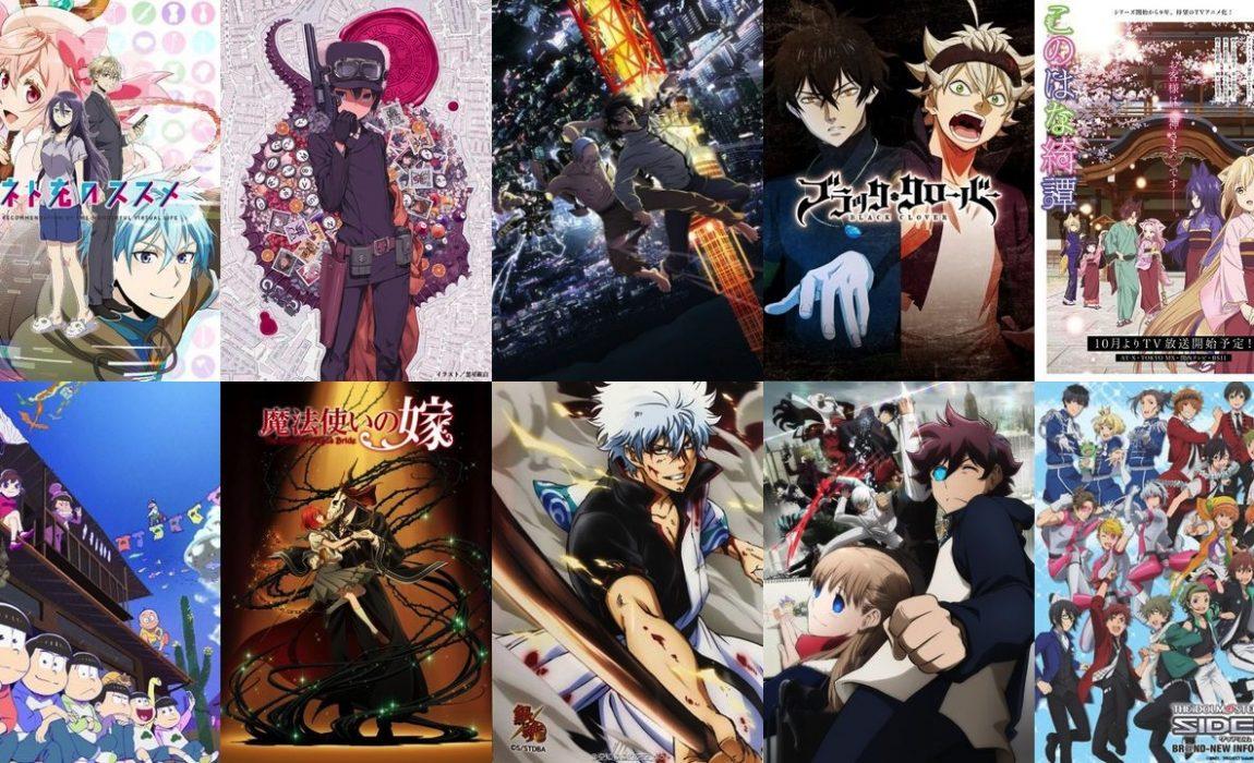 Animes do Outono 2017 – O que deixaram de ver