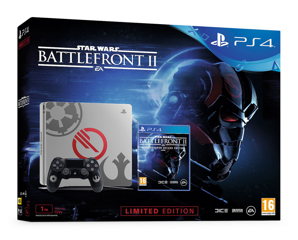 sony anuncia bundles ps4 com star wars battlefront ii pr ximon vel. Black Bedroom Furniture Sets. Home Design Ideas