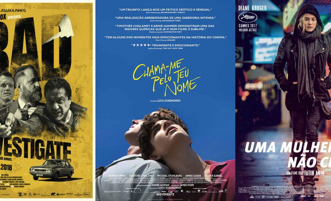 Cartaz Cinema (18 de Janeiro)