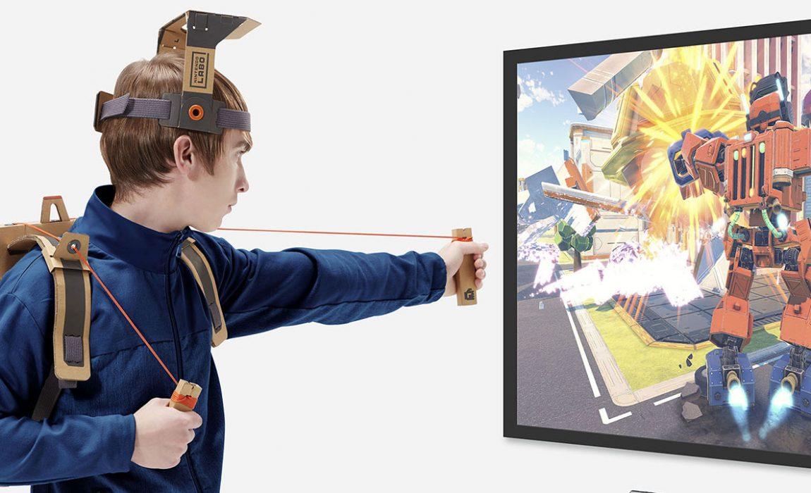 Nintendo Labo anunciado para a Nintendo Switch
