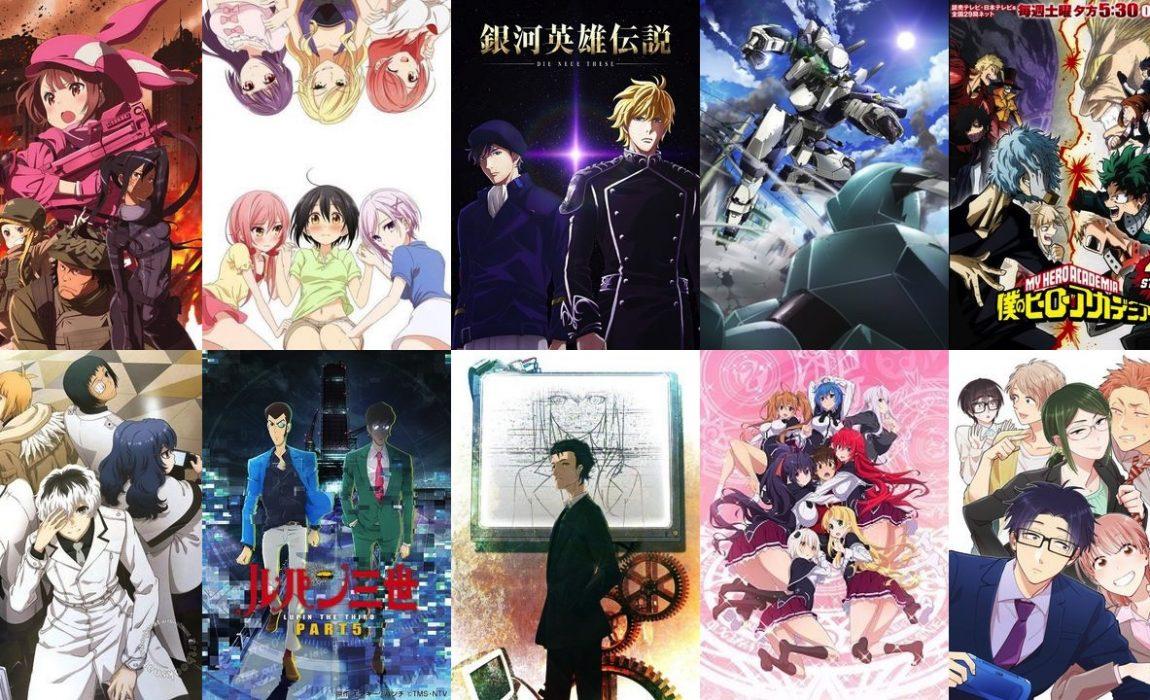 Animes da Primavera 2018 – Recomendados