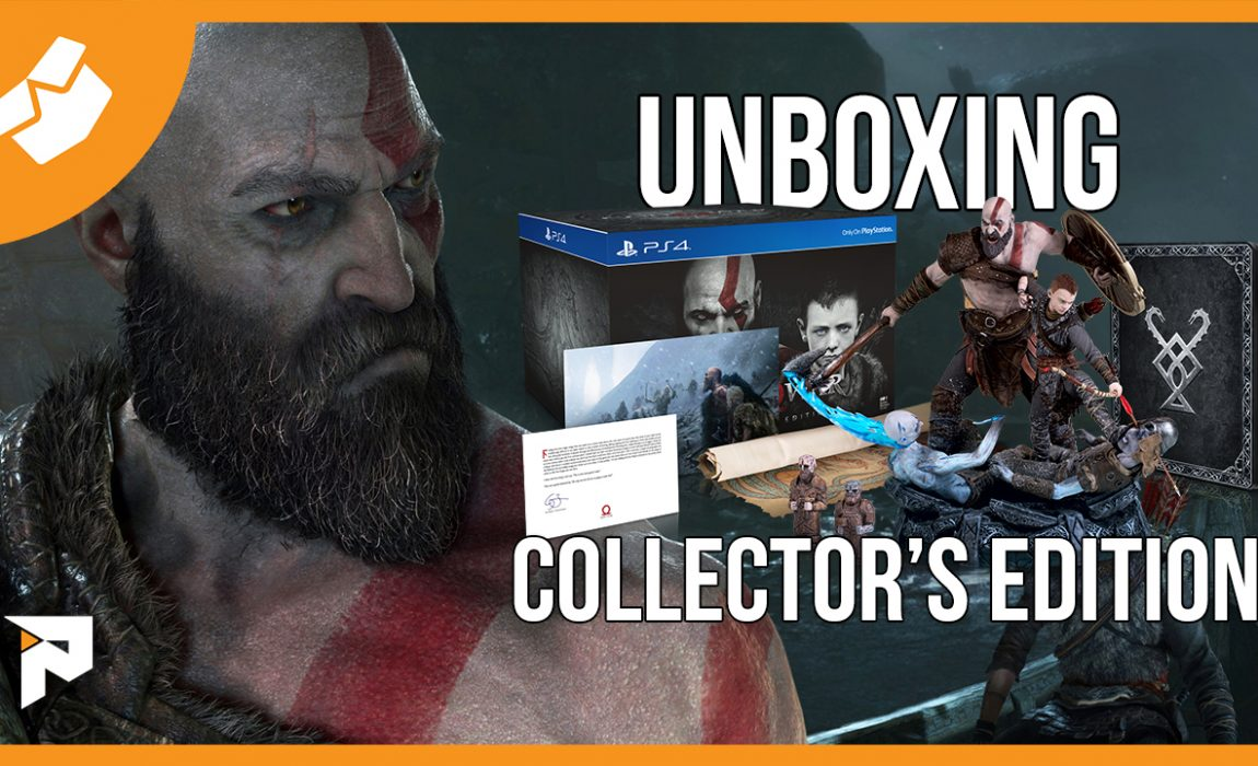 Unboxing – God of War Collector's Edition