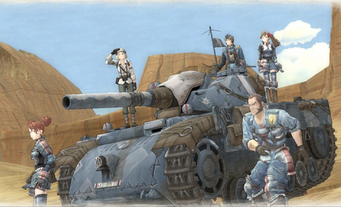 O elemento de estratégia e a individualização das personagens em Valkyria Chronicles Remastered