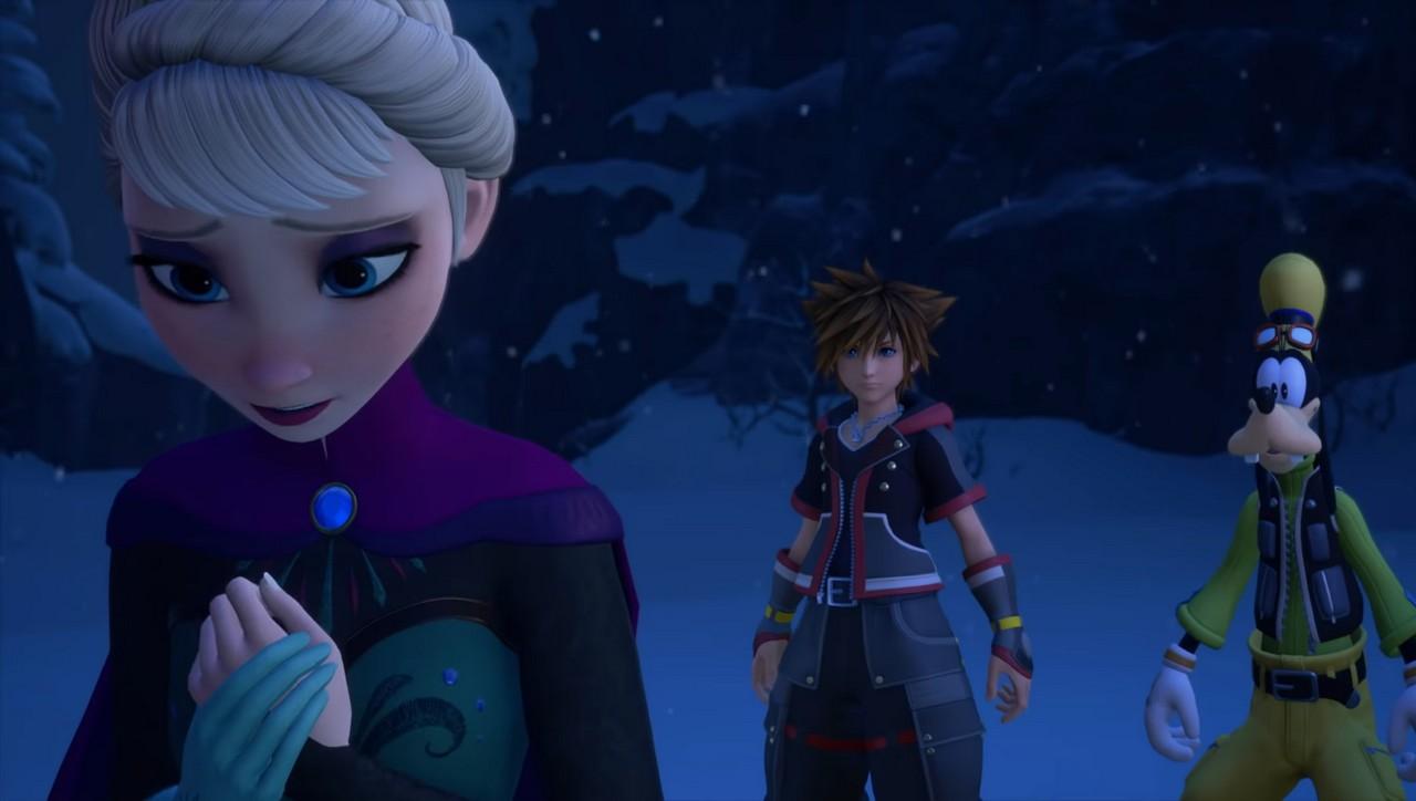 kingdom hearts iii destaca frozen em novo trailer da e3