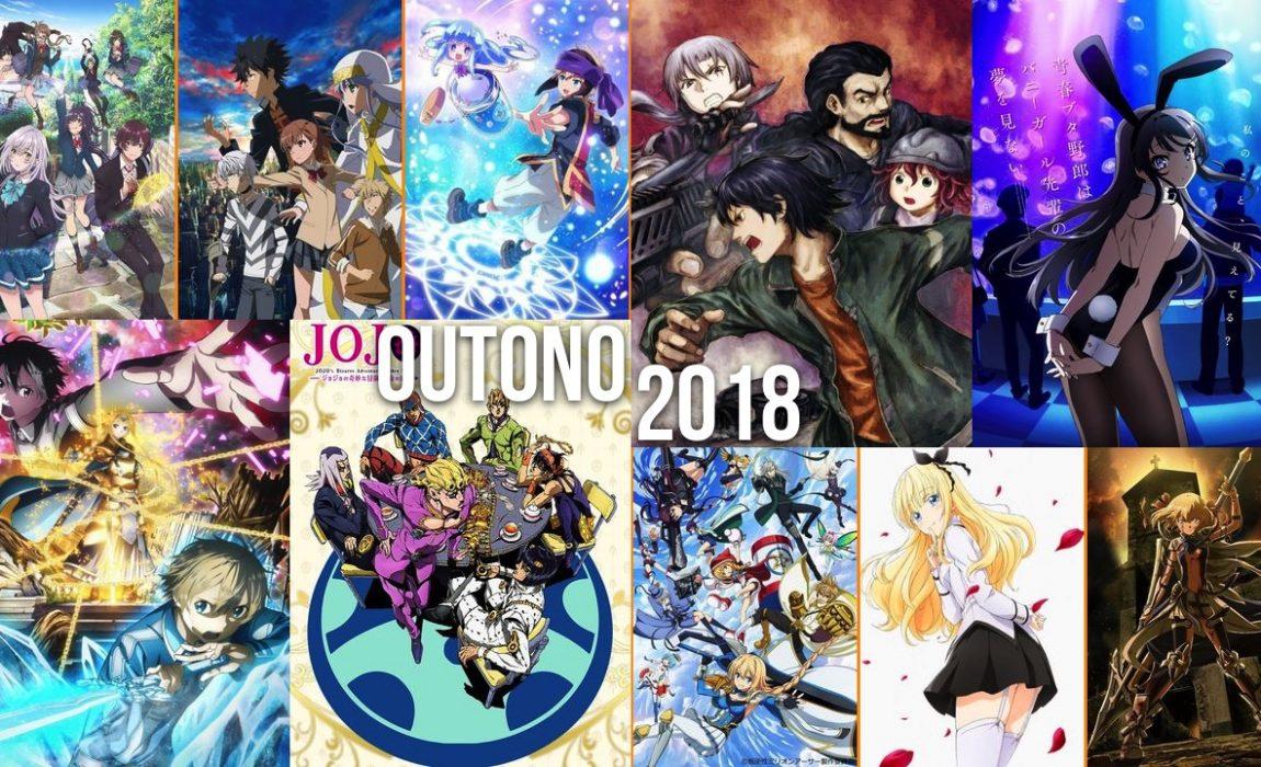 Animes do Outono 2018 – O que deixaram de ver