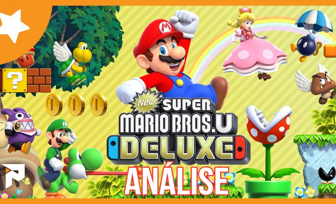 Análise – New Super Mario Bros. U Deluxe