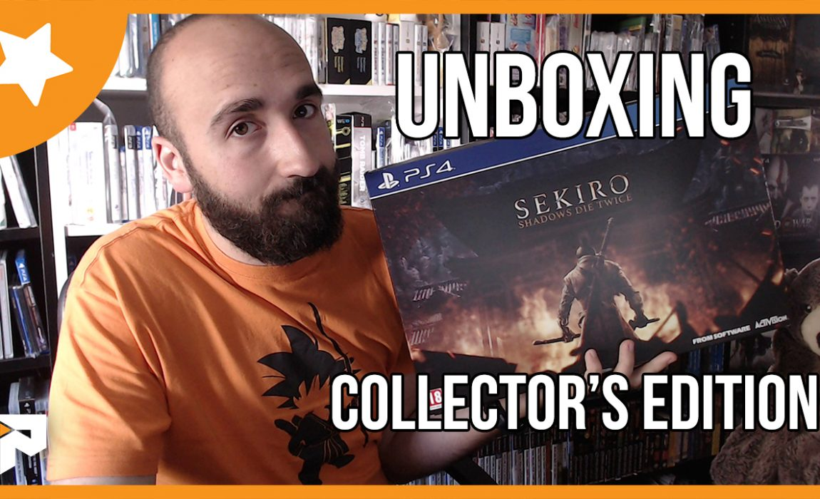 Sekiro: Shadows Die Twice: Unboxing Collector's Edition