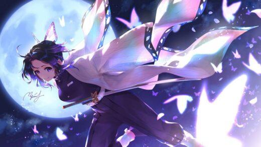 Shinobu Kocho do anime Demon Slayer